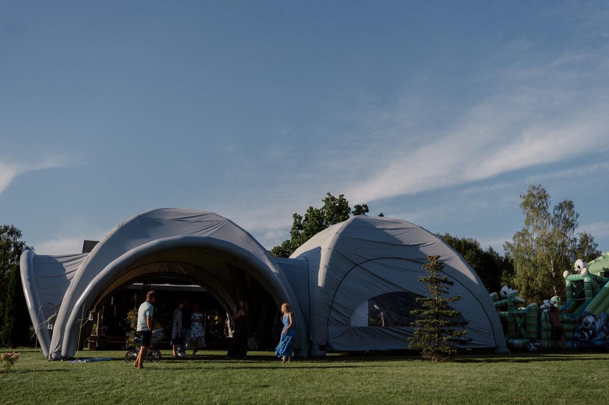 Piepūšamā telts (2 gab.) KOMPLEKTS